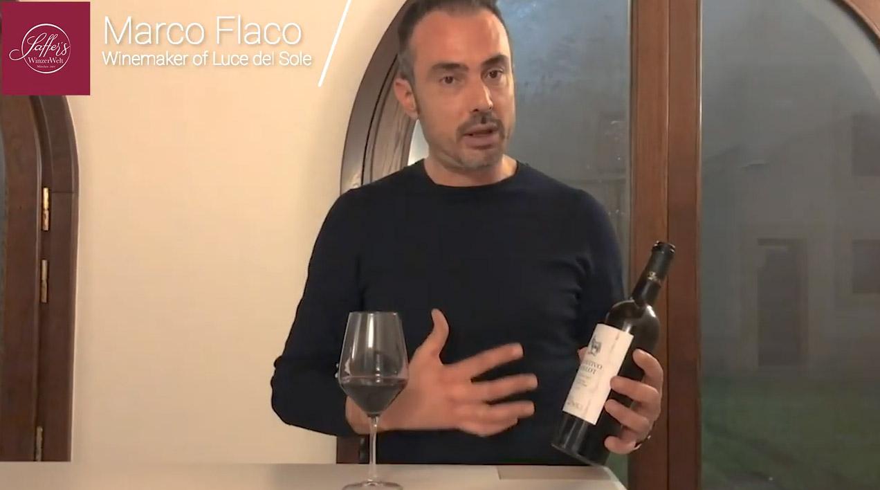Primitivo Merlot Tarantino IGT Luce del Sole Apulien Rotwein halbtrocken