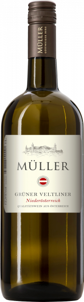 Grüner Veltliner QUW Niederösterreich 1,0l Müller Weißwein trocken