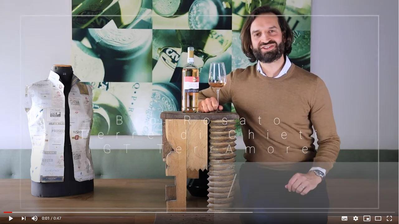 Bio-Rosato Terre di Chieti IGT TerrAmore Abruzzen Roséwein trocken