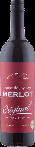 Anne de Joyeuse Merlot Original IGP Pays d´Oc Languedoc-Roussillon Rotwein trocken | Saffer's WinzerWelt