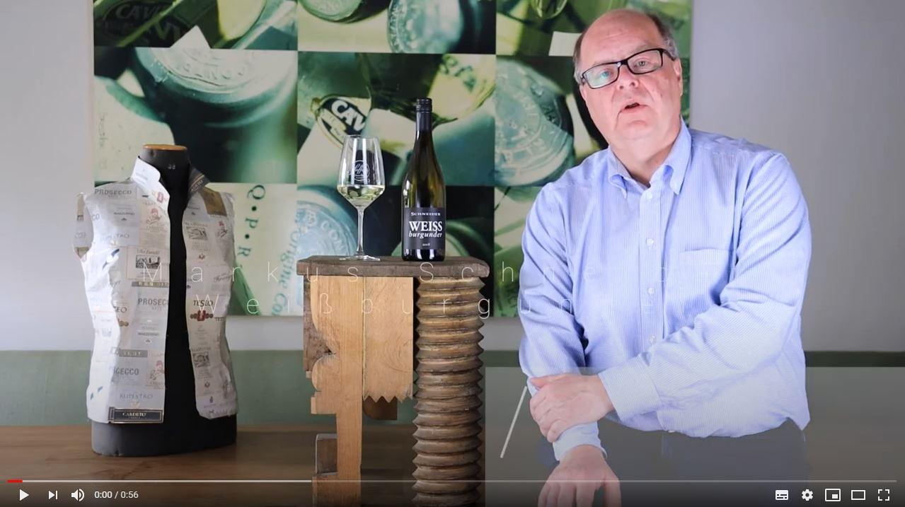 Markus Schneider Weißburgunder trocken QbA Pfalz Weißwein