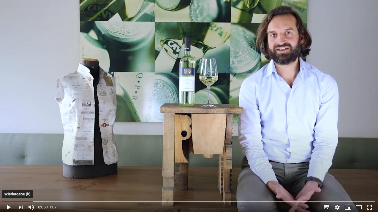Chardonnay Sicilia DOC Colomba Bianca Sizilien Weißwein trocken