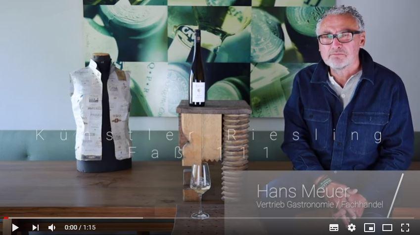Künstler Riesling Faß 111 trocken QbA Rheingau Weißwein