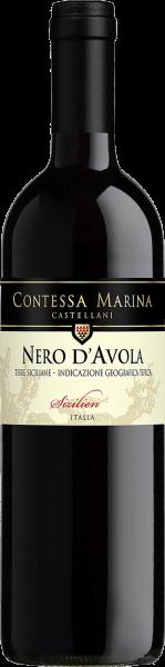 Nero d´Avola Sicilia DOC Contessa Marina Castellani Sizilien Rotwein trocken