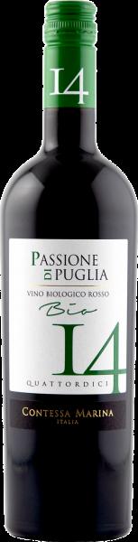 Passione di Puglia BIO Rosso IGT 14 Contessa Marina Rotwein Apulien
