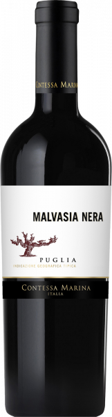Malvasia Nera Puglia IGT Contessa Marina Apulien Rotwein halbtrocken