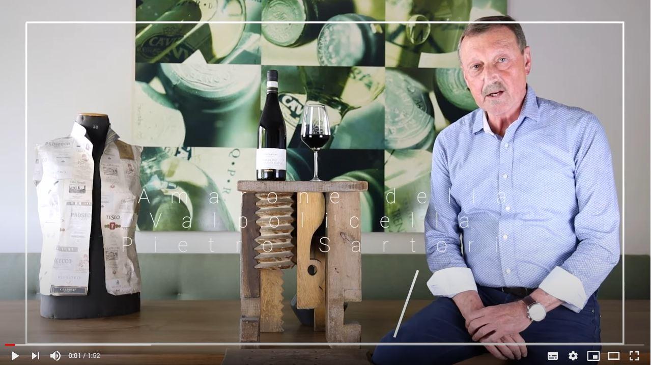 Amarone della Valpolicella Pietro Sartori DOCG Sartori Venetien Rotwein trocken