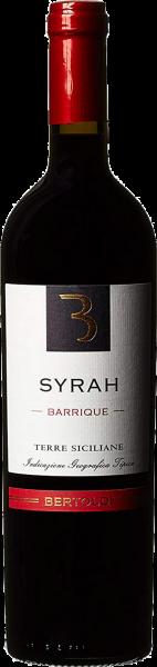 Syrah Barrique Terre Siciliane IGT Bertoldi Sizilien Rotwein trocken | Saffer's WinzerWelt