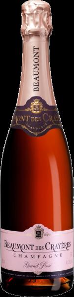 Champagner Grande Rosé Brut Beaumont des Crayeres Champagne Schaumwein