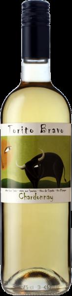 Chardonnay Cariñena DOP Torito Bravo Weißwein trocken
