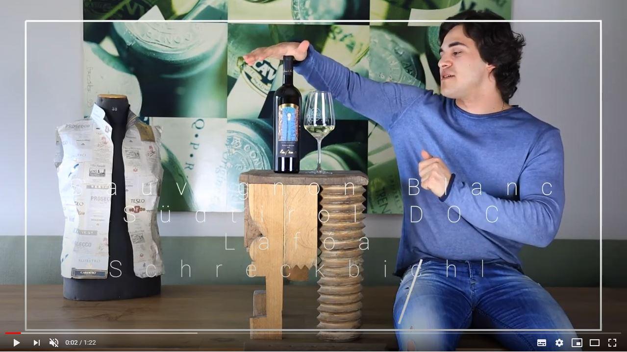Sauvignon Blanc Südtirol DOC Lafóa Schreckbichl Weißwein trocken