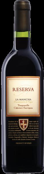 Temp./Cab.Sauv. Reserva La Mancha DO R Campos Reales Rotwein trocken | Saffer's WinzerWelt