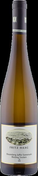 Brauneberger Juffer Sonnenuhr Riesling trocken Großes Gewächs QbA Weißwein