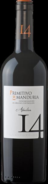 Primitivo di Manduria DOC 14 Doppelmagnum Apulien Rotwein trocken