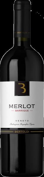 Merlot Barrique Veneto IGT Bertoldi Venetien Rotwein trocken