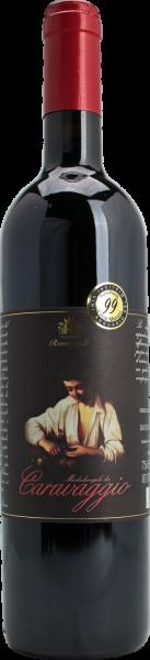 Caravaggio Rosso Emilia IGT Rotwein Romagnoli