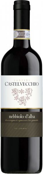 Nebbiolo d´Alba DOC Castelvecchio Piemont Rotwein trocken