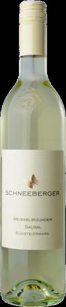 Weissburgunder Steiermark QUW Sausal Schneeberger Weißwein | Saffer's WinzerWelt