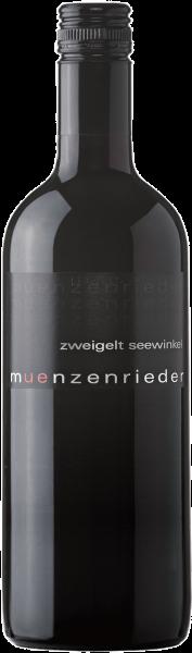 Zweigelt Liter Landwein 1,0l Münzenrieder Burgenland Rotwein trocken