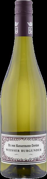Bassermann-Jordan Weisser Burgunder trocken QbA Pfalz Weißwein