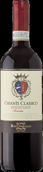 Chianti Classico DOCG Bindi Sergardi Annata Toskana Rotwein trocken | Saffer's WinzerWelt