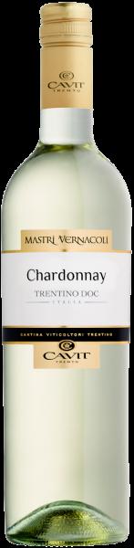 Chardonnay Trentino DOC Mastri Vernacoli Cavit Trentin Weißwein trocken