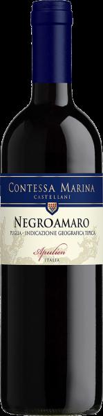 Negroamaro Puglia IGT Contessa Marina Castellani Apulien wein kaufen münchen | Saffer's WinzerWelt