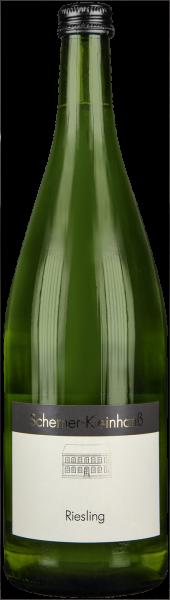 Riesling QbA halbtrocken Scherner-Kleinhanß Rheinhessen Weißwein