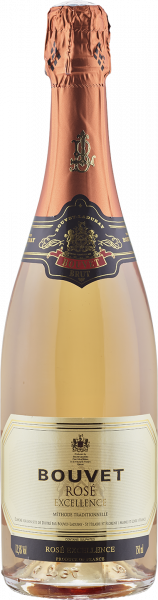 Bouvet Excellence Brut Rosé Loire-Tal Schaumwein