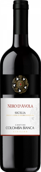 Nero d´Avola Sicilia DOC Colomba Bianca Sizilien Rotwein trocken