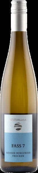Weißburgunder Faß 7 trocken QbA - Rheinhessen Weißwein