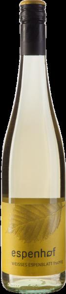 Espenhof Weißes Espenblatt fruchtig QbA Rheinhessen Weißwein | Saffer's WinzerWelt