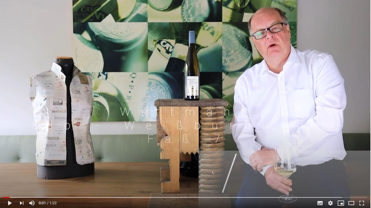 Weißburgunder Faß 7 trocken QbA - BIO Rheinhessen Weißwein