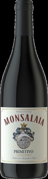 Primitivo Puglia IGT Monsalaia Apulien Rotwein semidry