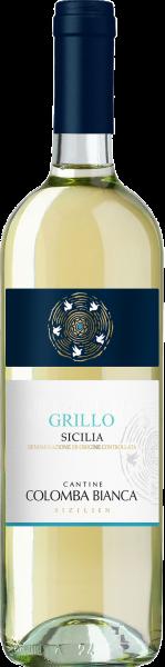 Grillo Sicilia DOC Colomba Bianca Sizilien Weißwein trocken   Saffer's WinzerWelt