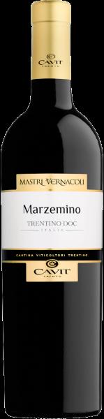 Marzemino Trentino DOC Mastri Vernacoli Cavit Trentin Rotwein trocken