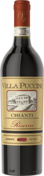 Chianti DOCG Riserva Villa Puccini Toskana Rotwein trocken | Saffer's WinzerWelt