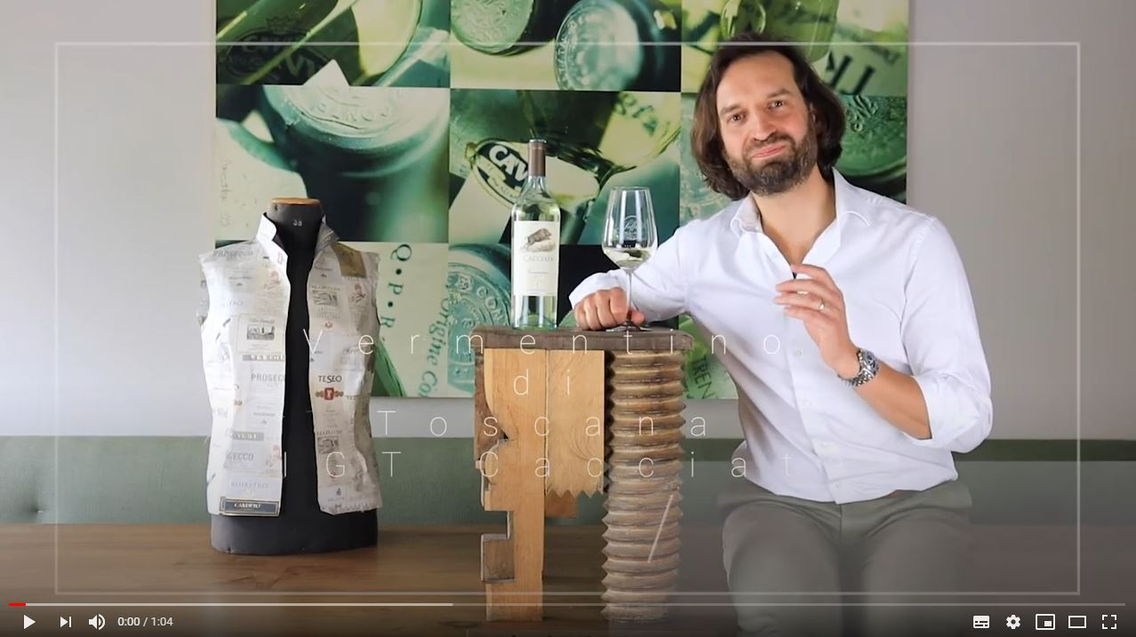 Vermentino di Toscana IGT Cacciata Toskana Weißwein trocken