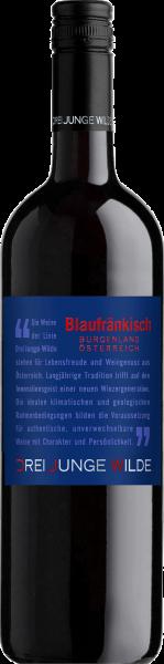 Blaufränkisch QUW Burgenland Drei Junge Wilde Rotwein trocken