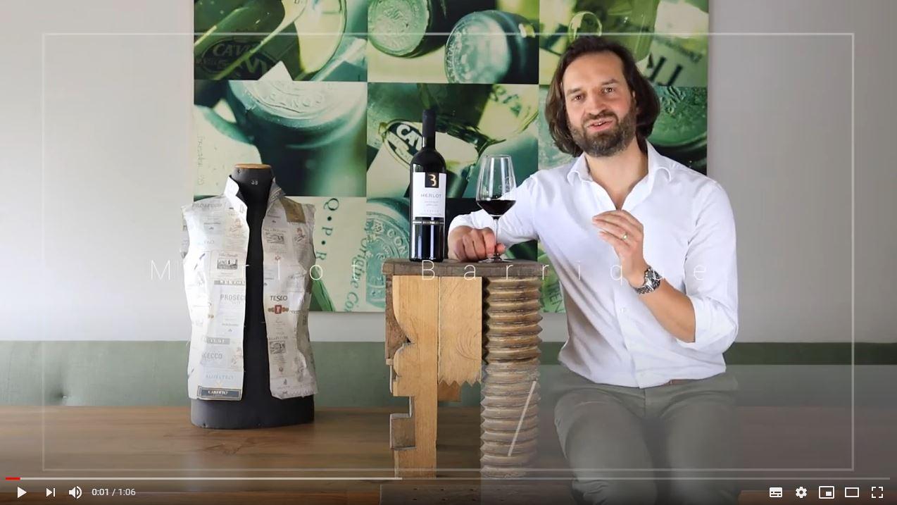 Merlot Barrique - affinato in legno Veneto IGT Bertoldi Venetien Rotwein trocken