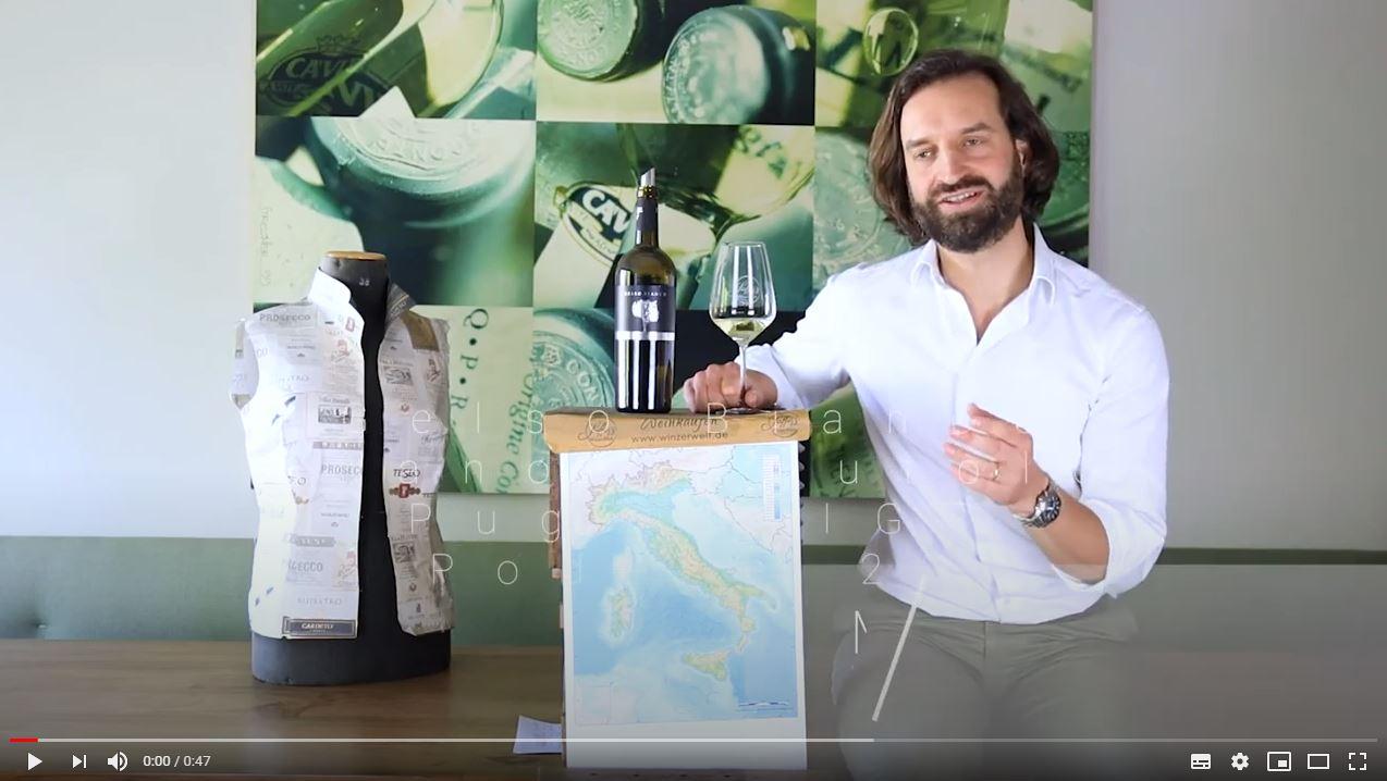 Gelso Bianco Fiano Minutolo Puglia IGT Podere 29 Apulien Weißwein trocken
