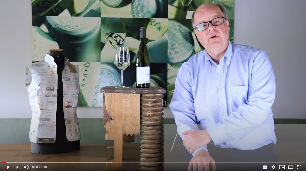 Damaszener Stahl Silvaner QbA trocken Franken Weißwein | Saffer's WinzerWelt