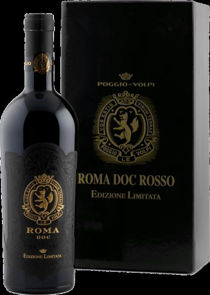 Roma DOC Edizione Limitata Poggio Le Volpi Latium Rotwein trocken