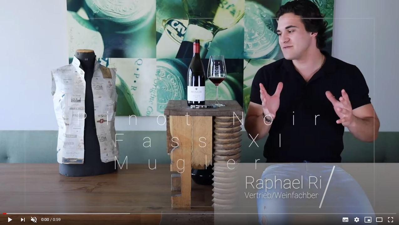 Pinot Noir Fass XI Mugler QbA Pfalz Rotwein trocken