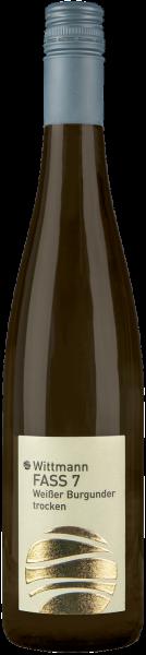 Weißburgunder Faß 7 trocken QbA - BIO Rheinhessen Weißwein   Saffer's WinzerWelt