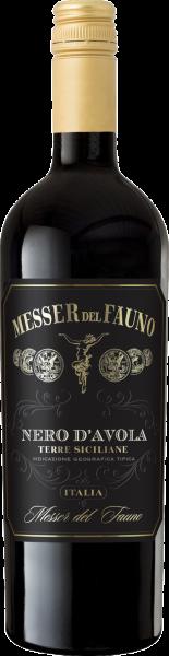 Nero d´Avola Sicilia DOC Messer del Fauno Sizilien Rotwein halbtrocken | Saffer's WinzerWelt