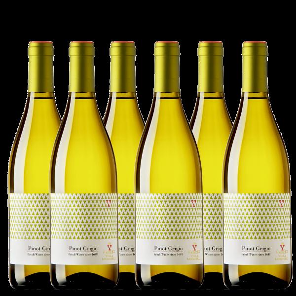 Weinpaket Pinot Grigio Isonzo Friuli DOC Villa Locatelli Angoris Friaul Weißwein