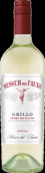 Grillo Sicilia DOC Messer del Fauno Sizilien Weißwein trocken