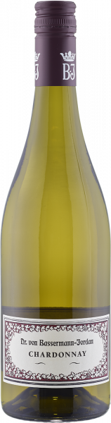 Bassermann-Jordan Chardonnay trocken QbA Pfalz Weißwein