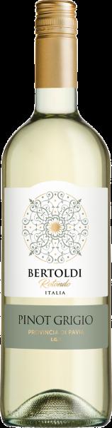 Pinot Grigio Pavia IGT Bertoldi Rotondo Lombardei Weißwein trocken